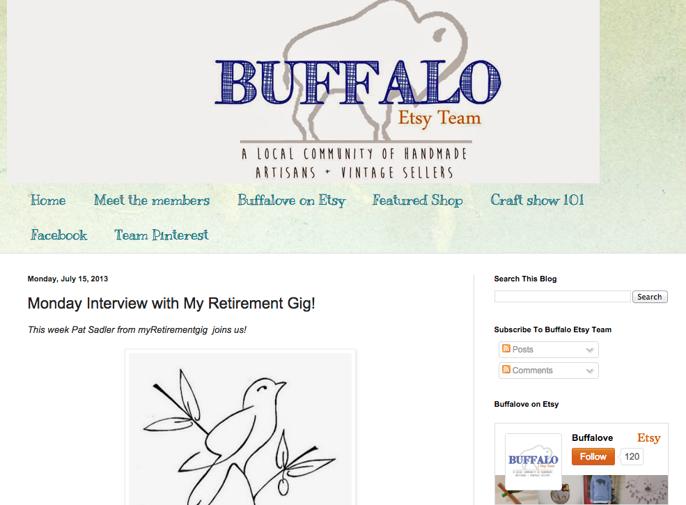 Sadler Garden Collections - Buffalo Etsy Team Feature