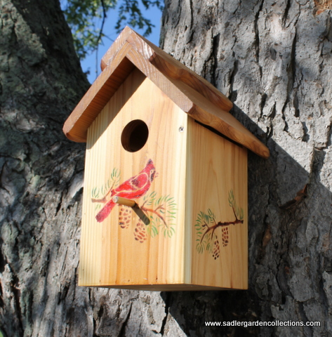 Nesting Box from Sadler Garden Collections