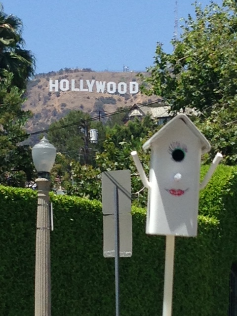 Polly goes to Hollywood