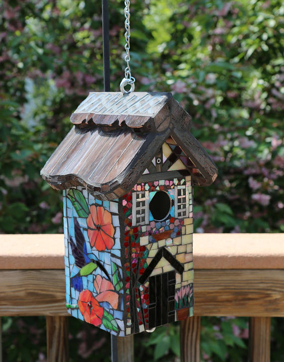 The Craft Collaboration Project: A Mosaic Bird House